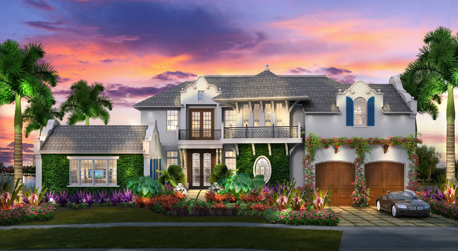 Boat Trolley Model Home Front Elevation | Boat Trolley: Innovative Boat Docking & Storage Solutions