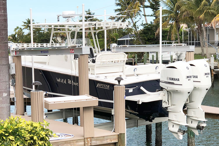 Solution to Marco Island Boat Clutter | Boat Trolley: Innovative Boat Docking & Storage Solutions