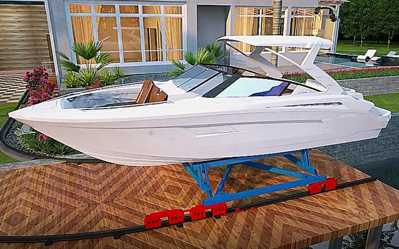 Boat Trolley, LLC. | Innovative Boat Transportation & Home Storage