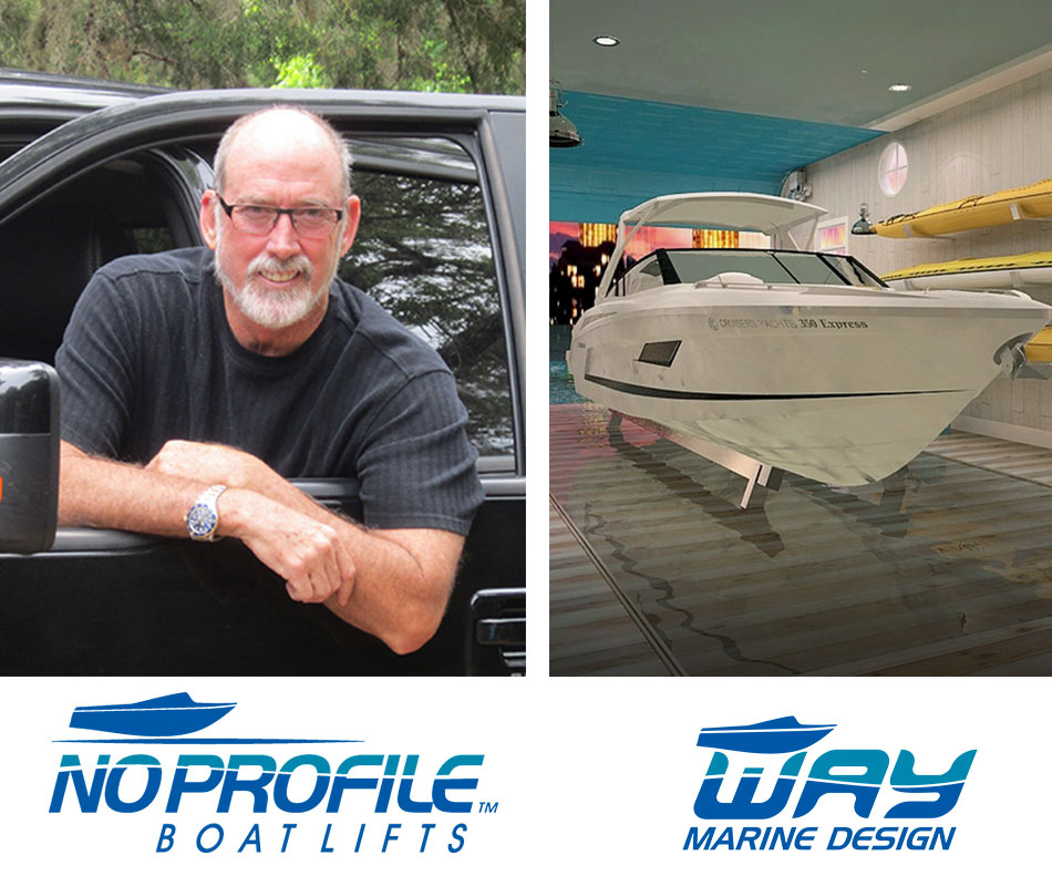 Chris Way CEO - Way Marine Design | Boat Trolley: Innovative Boat Docking & Storage Solutions